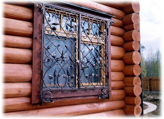 Кованые решетки на окна в городе Рыбинск